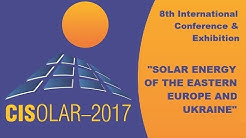 CISOLAR-2017 Odessa . International Conference and Exhibition Solar Energy Industry