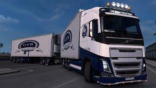 Euro Truck Simulator 2 Mod (1.33.x) Volvo FH16 Tandem
