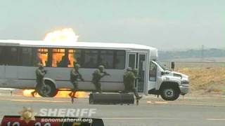 SWAT Team Demonstration, Sonoma County Sheriff video