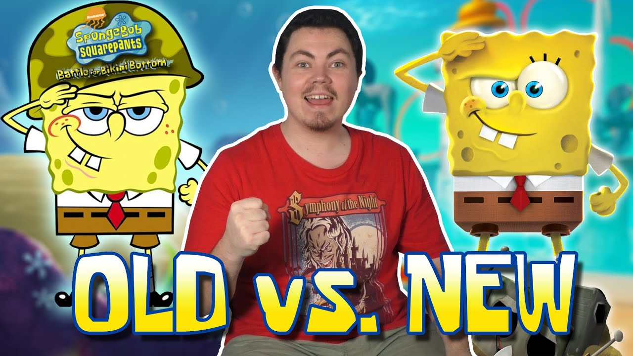 Original VS. Remake: Battle for Bikini Bottom - Game Testing