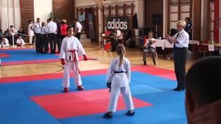 Karate turnir - 5.Krk kup 02.06.2013. - Stela Polonijo u kategoriji mlađe kadetkinje