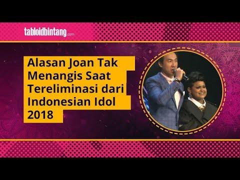 Alasan Joan Tak Menangis Saat Tereliminasi dari Indonesian Idol 2018