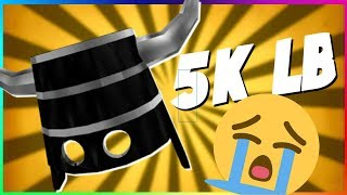 NOUS ACCIDENTALLY LOWBALLED BIB 5K!? (ROBLOX TRADING)