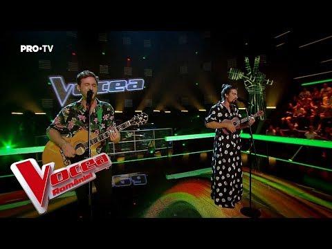 Andrei vs Claudiu - Set fire to the rain | Battle 4 | The Voice of Romania 2018
