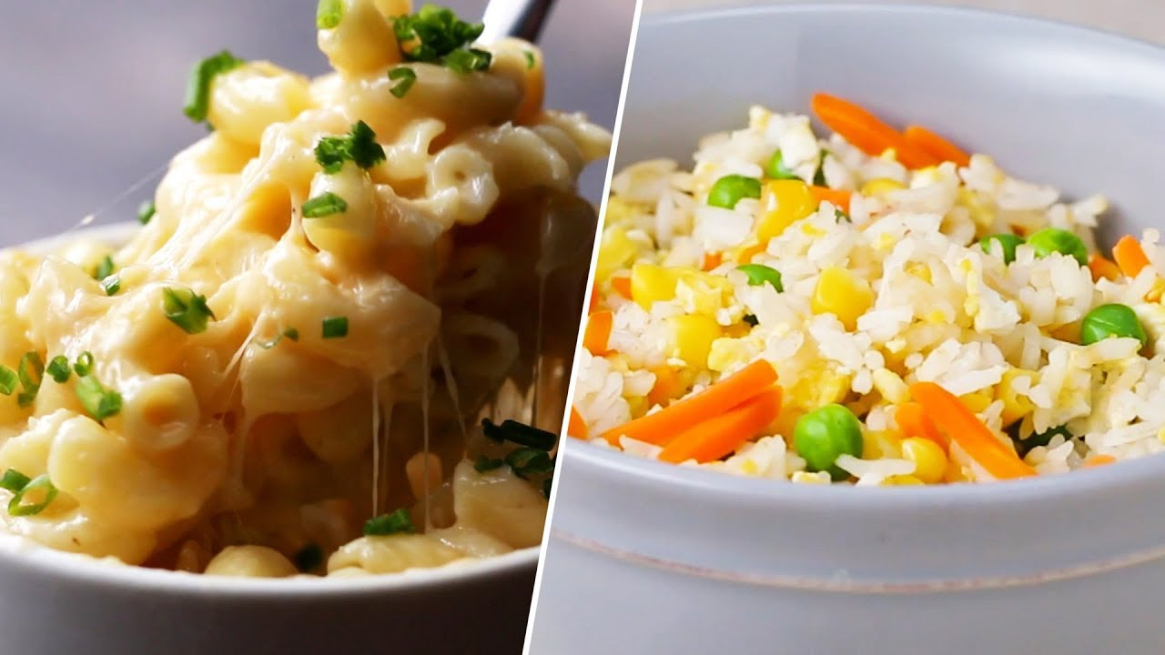 24 Dorm Friendly Microwave Meals