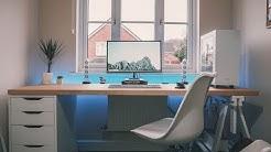 Byte Review Setup Tour 2018 | The Ultimate IKEA Desk!