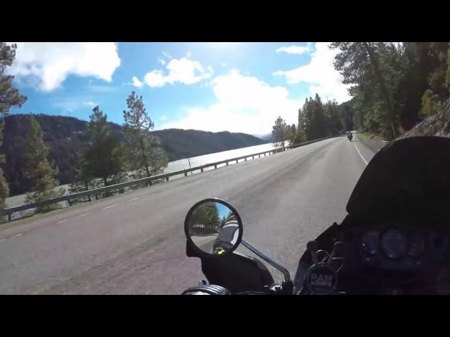 2016 Kawasaki KLR 650 Washington State Motorcycle Adventure Ride Part 2 - 4K