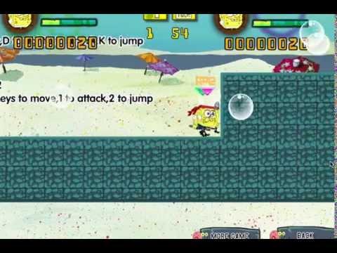 Игры Губка Бoб для двоих (Spongebob Rescue Troops)