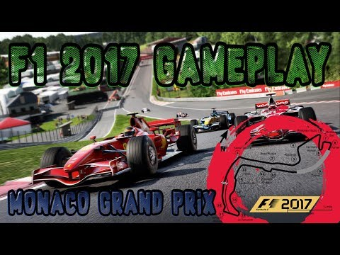 My F1 2017 Experience - Monaco Grand Prix / Qualifying - Live GamePlay