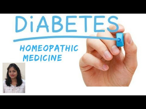 Diabetes -  Homeopathic Medicine For Diabetes