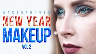 💄 Новогодний макияж 2017 | Новогодний макияж глаз | Видео уроки макияжа MAKEUP HOUSE
