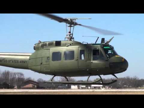 UH-1H Bell Huey First Flights HD helikopter