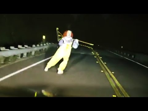 Top 15 Scariest Clown Sightings Videos