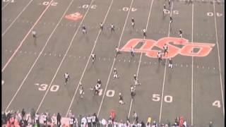 Tracy Moore - Full Offensive Game Film - Oklahoma State vs. Baylor