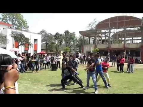 Flash Mob at Gauhati University