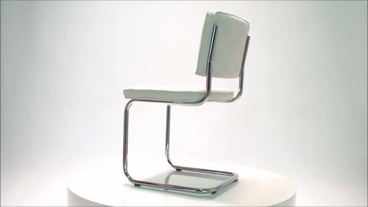 Zuiver Stoel Ridge : Ridge rib stoel wit zuiver eyoba designerstoelen youtube