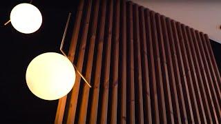 Ткань и рейки на стену своими руками | Современный дизайн спальни - сделай сам