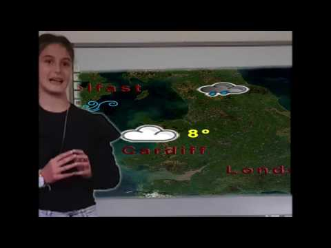 Weather forecast by B class 2017