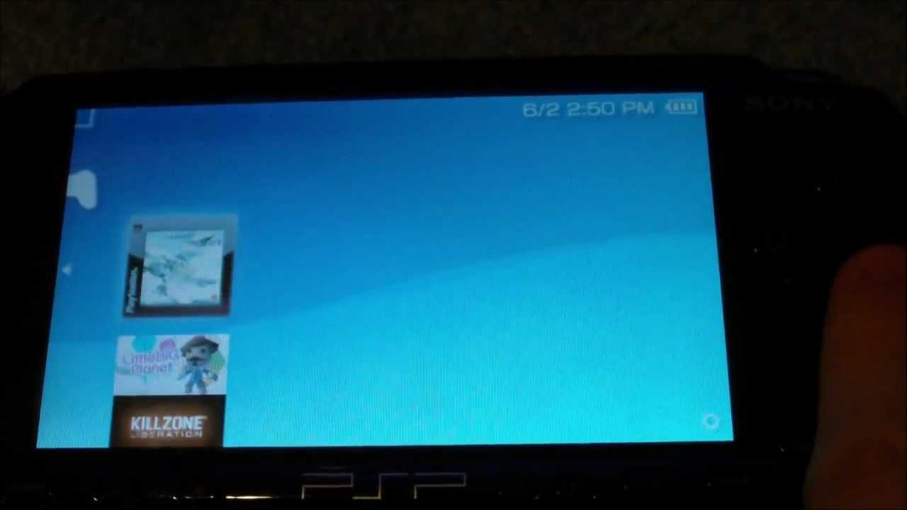 How to play ps1 games on your psp 3000 youtube.
