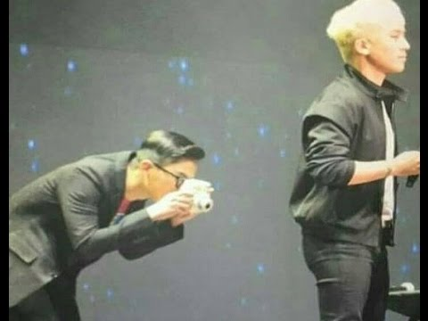 GD TAKES A SEXY PICTURE OF SEUNGRI'S BUTT DURING FANMEETING IN SHANGHAI 11.03.16