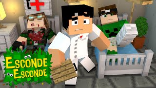 Minecraft: YOUTUBERS NO HOSPITAL! (Esconde-Esconde)