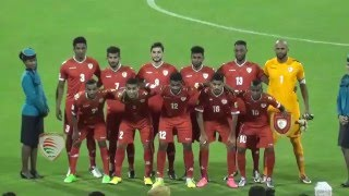 لقطات من مباراة عمان وجوام في عمان
