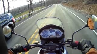F650gs winter ride