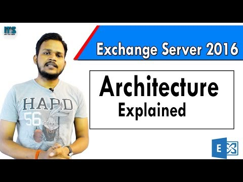 3- Architecture Of Exchange Server 2016 In Hindi