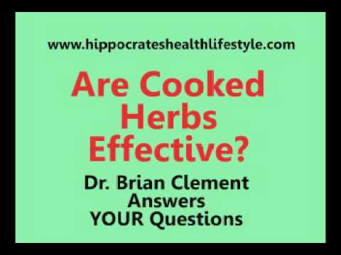 Healing Herbs Can Be Cooked According To Hippocrates Health Institute Director