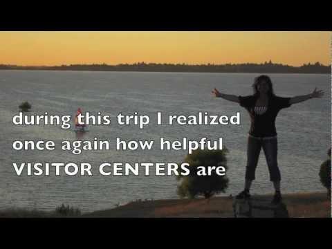Marta's Road Book #6 : CALIFORNIA Visitor Centers - my American friend