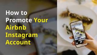 Gambar cover How to Promote Your Airbnb Instagram Account
