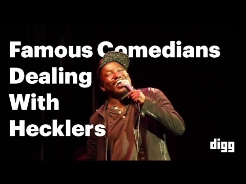 Enjoy Some Of The Best In Comedy Shutting Down Hecklers In This Supercut