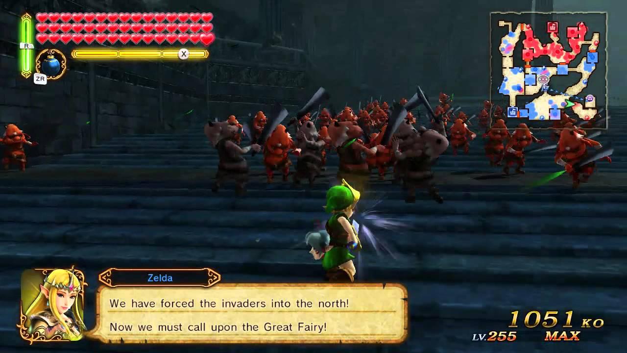Legend Of Zelda Hyrule Warriors Young Link Level 255 Youtube