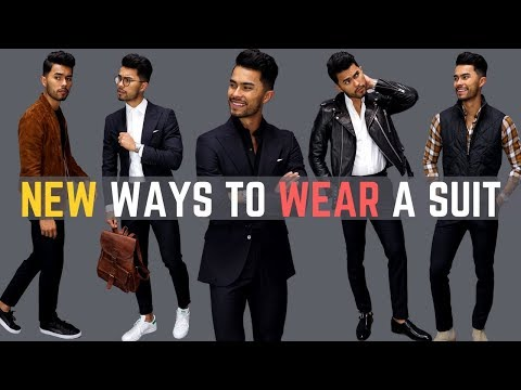 8 NEW Ways To Wear a Suit (You've Probably Never Tried)