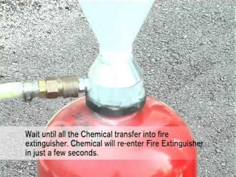 Superkan ABC Dry Podwer Service & Refill Demonstration.VOB