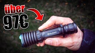 Warrior X von Olight - Taschenlampe Outdoor Bushcraft Ausrüstung Review | Fritz Meinecke - Gear