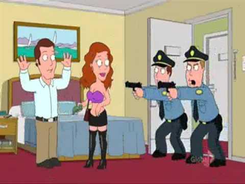 Family guy - prostitution vs porn