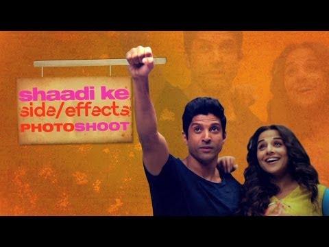 Shaadi Ke Side Effects Photoshoot - Farhan & Vidya