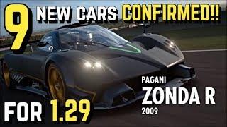 9 CARS *CONFIRMED* for GT SPORT 1.29 November Update!!