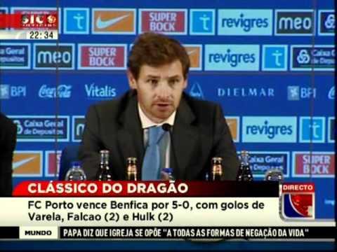 FC Porto 5 - 0 Benfica   Conferência Imprensa FCP