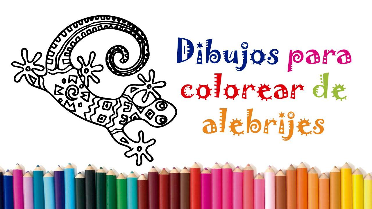 Dibujos Para Colorear De Alebrijes Httpwwwamo Alebrijescom