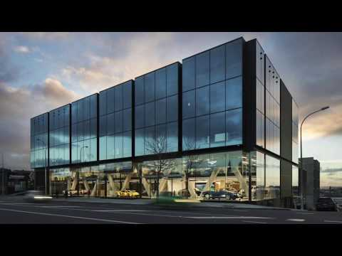 New Giltrap Group showroom building