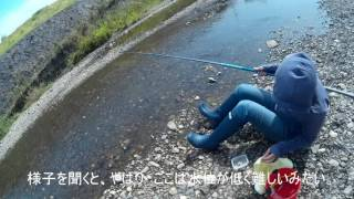 小鮎釣り20170611