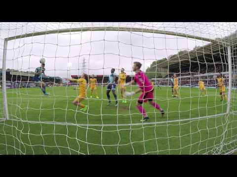 Go Pro footage of Scott Kashket's winner against Cambridge