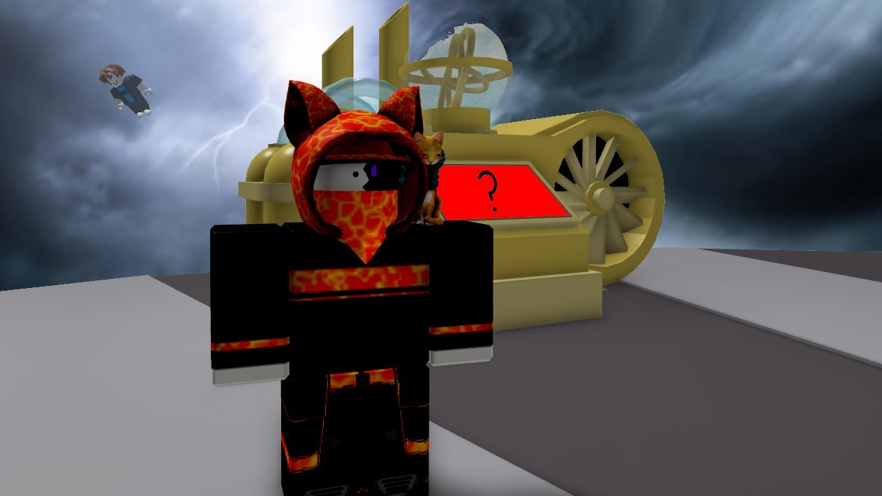 it would be ashame if i powered this up... (ROBLOX Natural Disaster Survival)