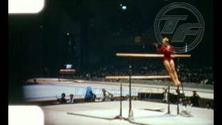 Tokyo 1964  [Věra Čáslavská] Uneven Bars GYMNASTICS  Amateur Footage