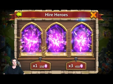 10,000 Gems UNBELIEVEABLE Session CANT Believe THIS HAPPENED Castle Clash