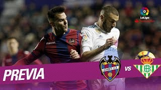 Previa Levante UD vs Real Betis