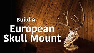 Making a European Mount Wall Plaque/Table Pedestal