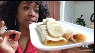 MAKING CREPES FOR MY KIDS! THEY ARE SPOILED